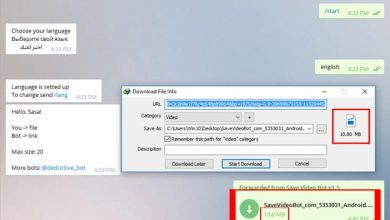 آموزش دانلود فایل های حجیم از تلگرام با برنامه ی اینترنت دانلود منیجر